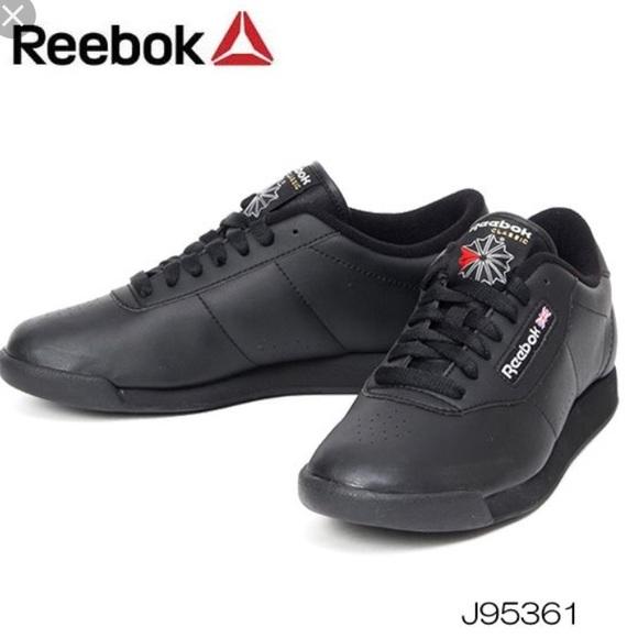 Reebok Princess Classic Black Shoes Poshmark Walking rqSrzw